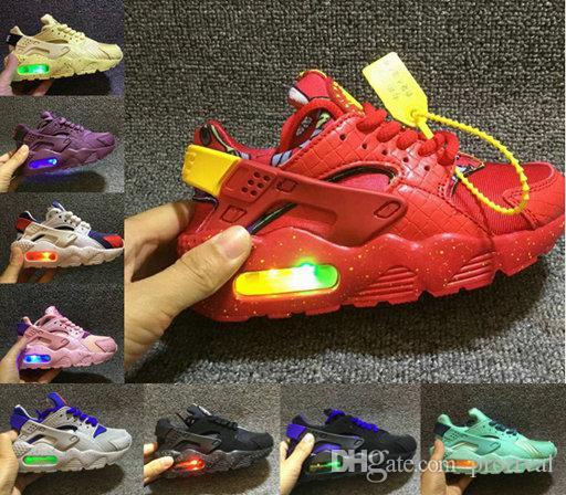 31b4f68ec173 2018 Air Huarache Kids Infant Running Shoes Sports Children ...