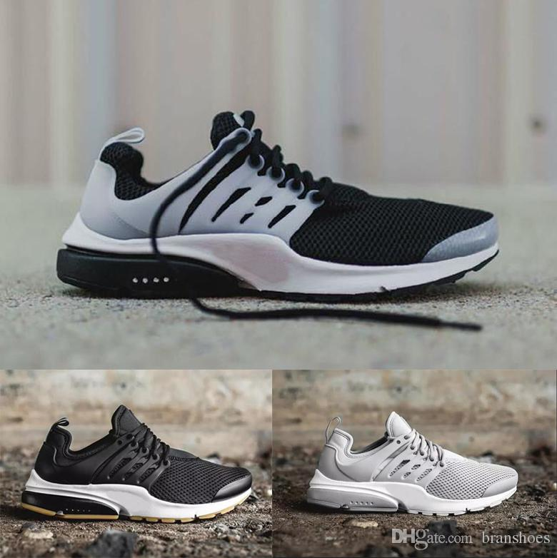 981c1f543a3aa9 Authentic Presto Ultra Olympic BR QS Women Men Running Shoes NAVY RED Grey  Fashion Casual Walking Airs Sports Sneakers Size 36 45 Mens Sneakers Cheap  Shoes ...