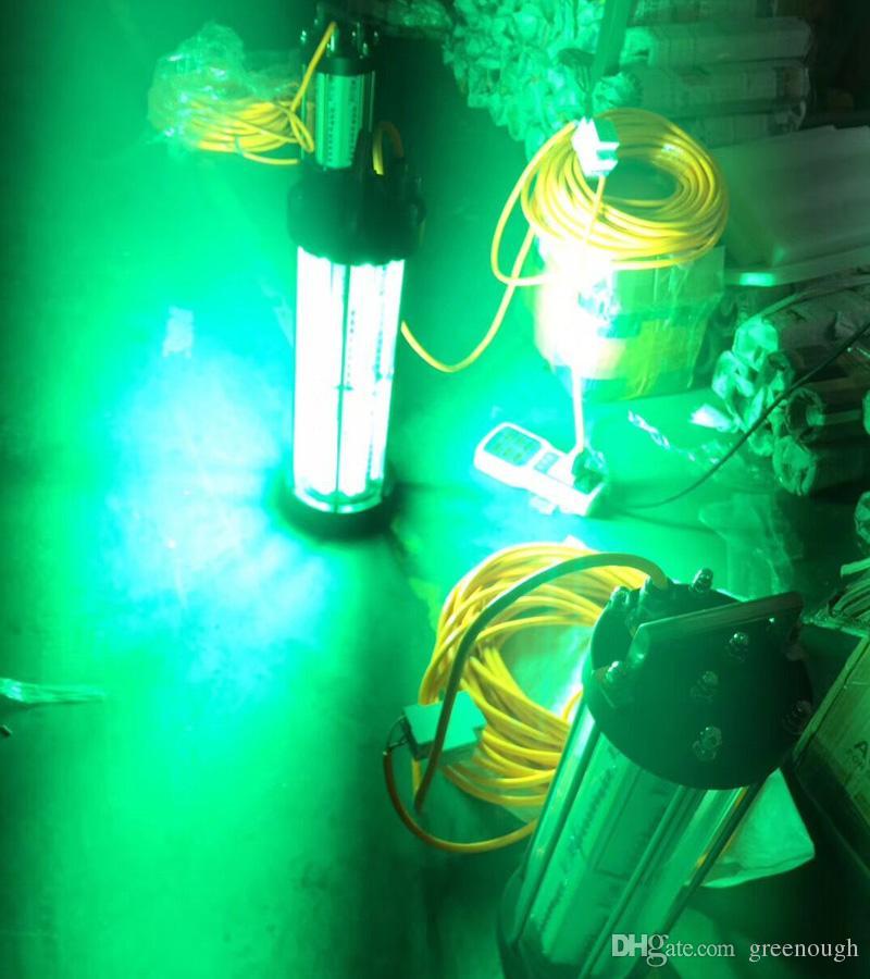 600 W 1000 W 2000 W AC220V AC110V Verde Branco Azul Vermelho Subaquático Luzes de Pesca LED Para Barco Iate Marinho Luzes Led Subaquáticas Para Pesca