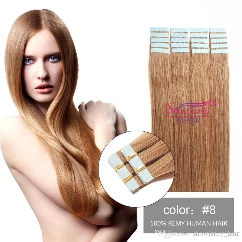 Seamless Remy Tape In Hair Extensions Wholesale Real Human Hair 8