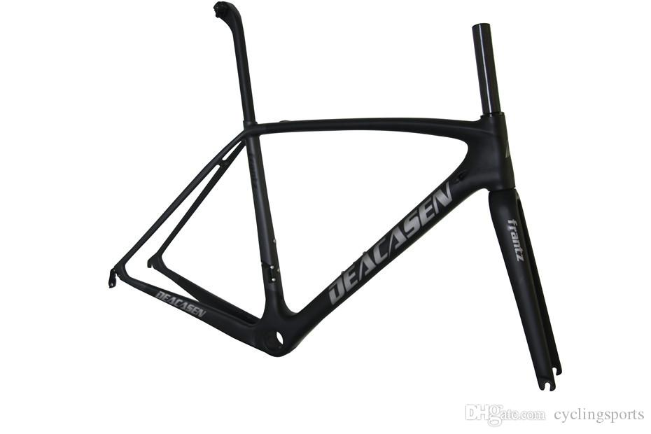 Deacasen carbon bicycle hot sale T1000 Di2 carbon road frame cycling bicycle racing frameset Frame+Fork+Seatpost+Headset+Clamp carbon fiber