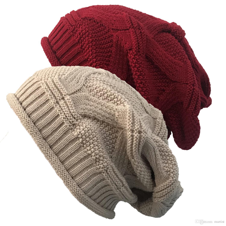 Compre A Granel Lotes Invierno es Tejer Gorros Hip Hop Gorras Niñas Marca  Equipada Sombrero De Lujo Sombreros De Polo Cráneo Gorras Cubo Sombreros A   2.47 ... eb3dc13fc34