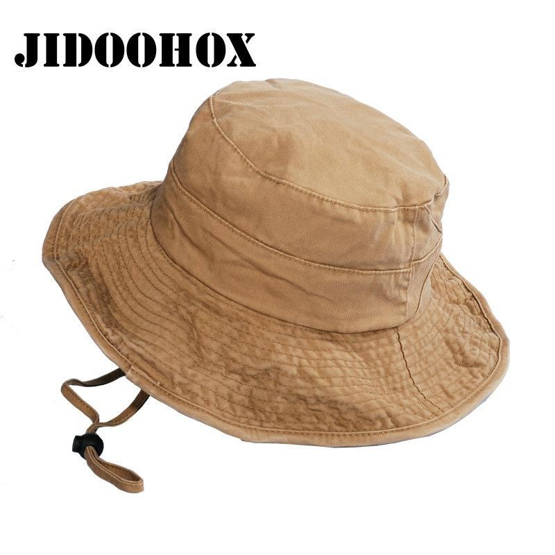 a67e6389b1d Unisex UV Protection Bucket Hat For Men Women Summer Boonie Hunting Fishing  Fisherman Hat Travel Outdoor Sun Cap UK 2019 From Jianpin