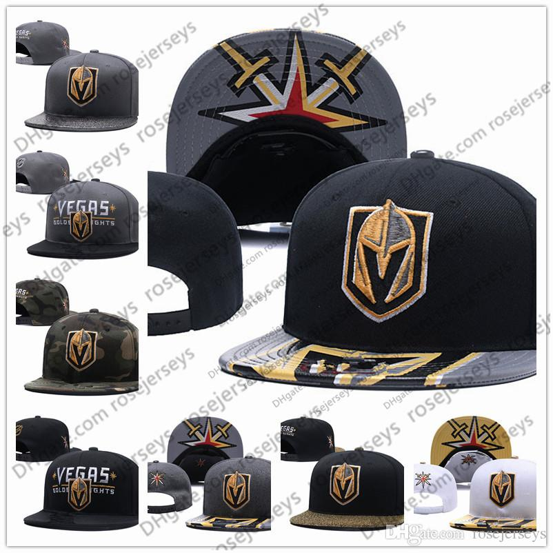 565e41c750aac 2019 Vegas Golden Knights Ice Hockey Knit Beanies Embroidery Adjustable Hat  Embroidered Snapback Caps Black Gray White Stitched Hats One Size From ...