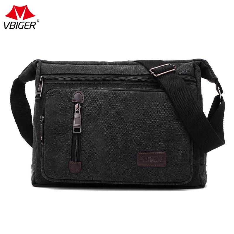 1913d4aed93 Vbiger Newest Men Bags Vinatge Canvas Messenger Bags Fashion Men S High  Quality Crossbody Shoulder Solid Male Casual Ivanka Trump Handbags Western  Purses ...