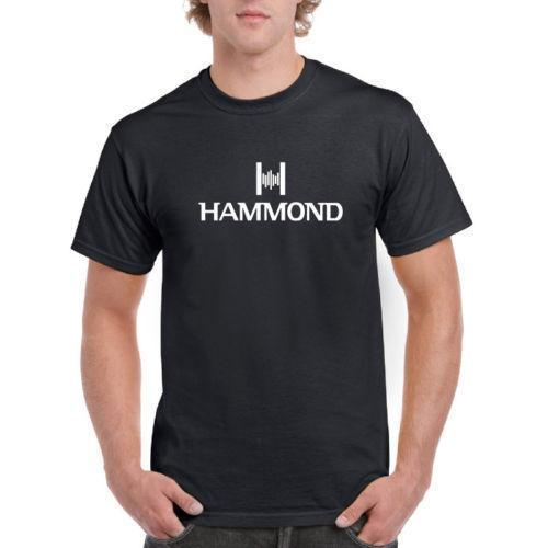 Hammond organ Logo Mens Cotton Tee Shirts For Men