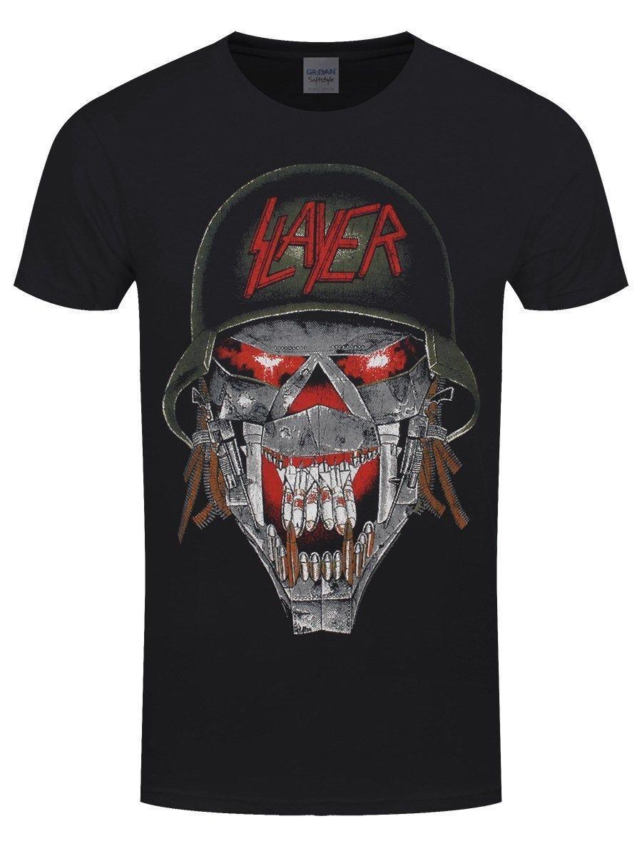 Slayer T Shirt War Ensemble Homme Noir Coolest Tees Awesome Tee Shirt From  Cooltees 3b4d831372b