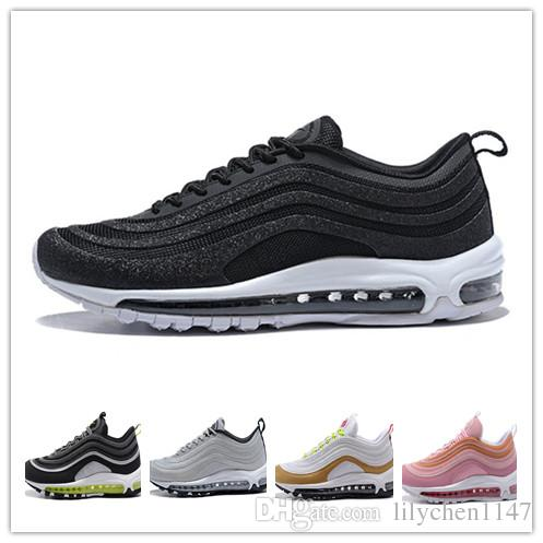 2018 Wholesale 97 OG Bullet Running Shoes Men Casual Women Air Cushion Boost Undefeated Hiking Jogging Sneakers Outdoor Athletic Sport Shoes footlocker pictures online sale amazon nfEsup