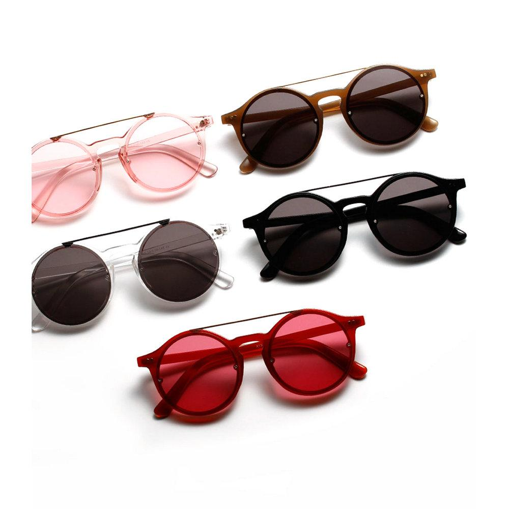 ec50cc414733 MINCL/Vintage Double Bridge Sunglasses Women And Mens Retro Hip Hop Sunglasses  Red Brown Grey Clear Lens UV400 Gyw Sunglasses Brands Best Sunglasses From  ...