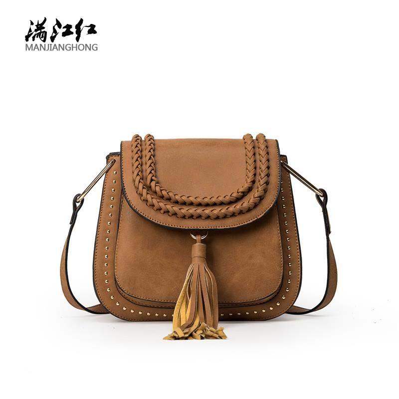 d165bfa81a Designer Vintage Saddle Bag Small Shoulder Messenger Crossbody Bags ...
