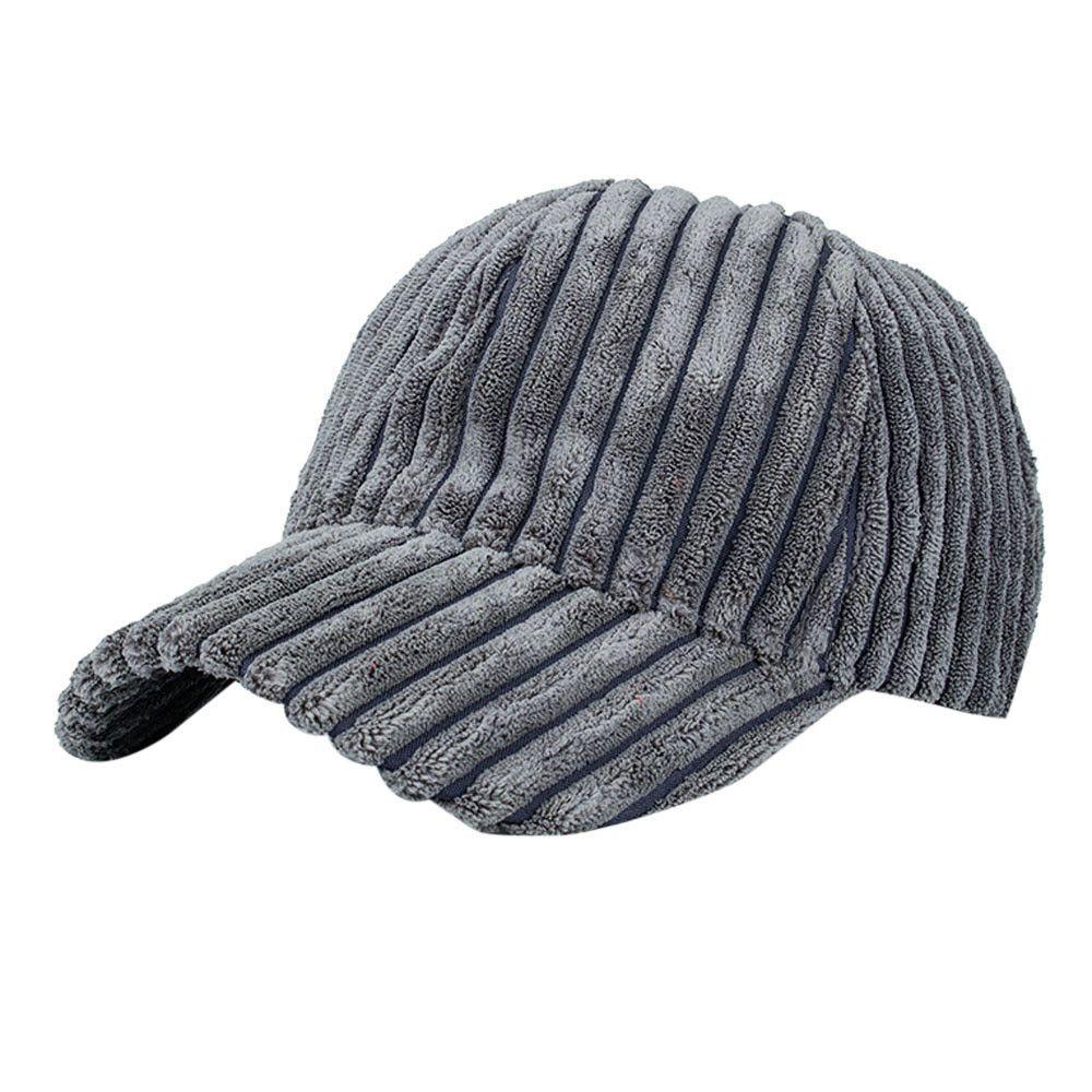 Unisex Women Men Corduroy Baseball Cap Snapback Hip Hop Flat Hat Autumn  Winter Keep Warm Adjustable Baseball Baseball Cap Flat Cap From  Lotusflowern ef1cf4407ac