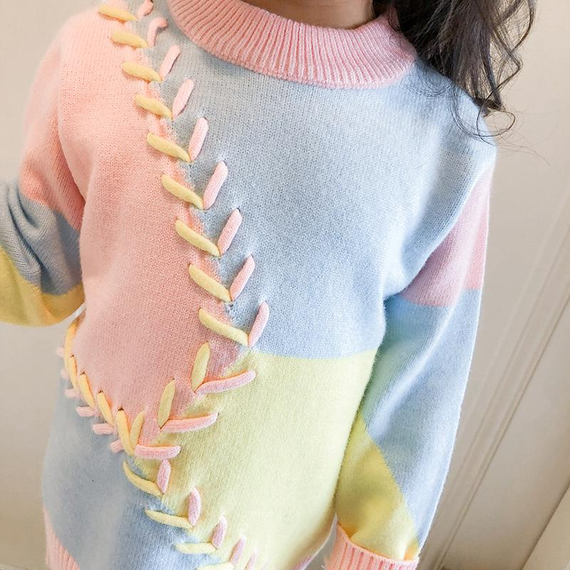 c8dc7e8f6 MQ Winter Baby Girl Sweater Series 2018 Autumn Children Clothing ...