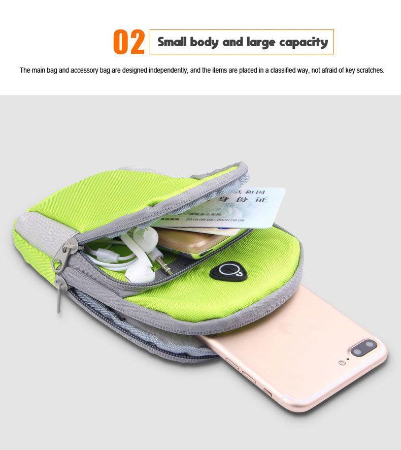 الهاتف الخليوي العالمي الذراع حقيبة الفرقة الرياضة في الهواء الطلق الجري شارة حالة للماء حامل Pounch آيفون X 7 8 6 زائد Samsung S9 S8