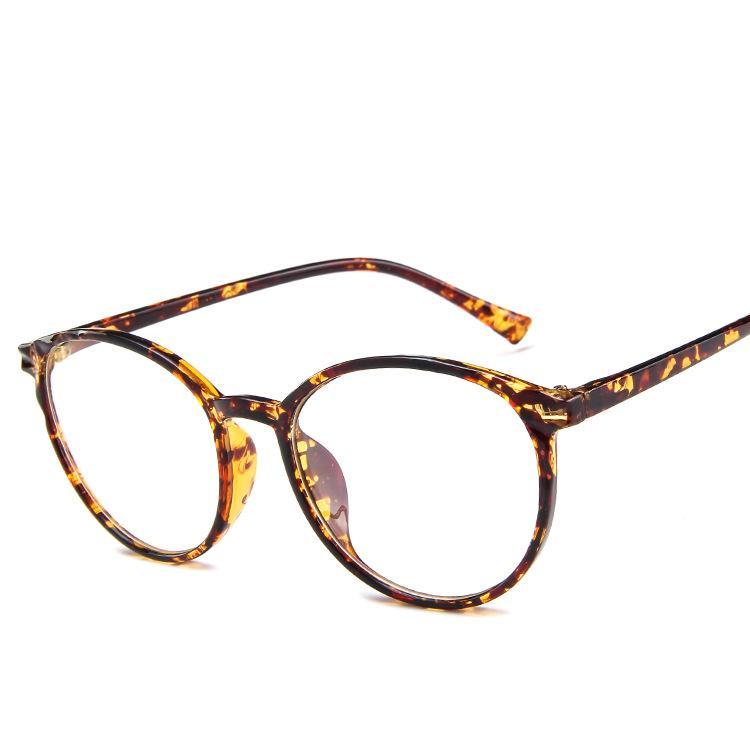 01a784cdcb90 Plastic Glasses Round Spectacle Frames L Brand Vintage Eyewear PC ...
