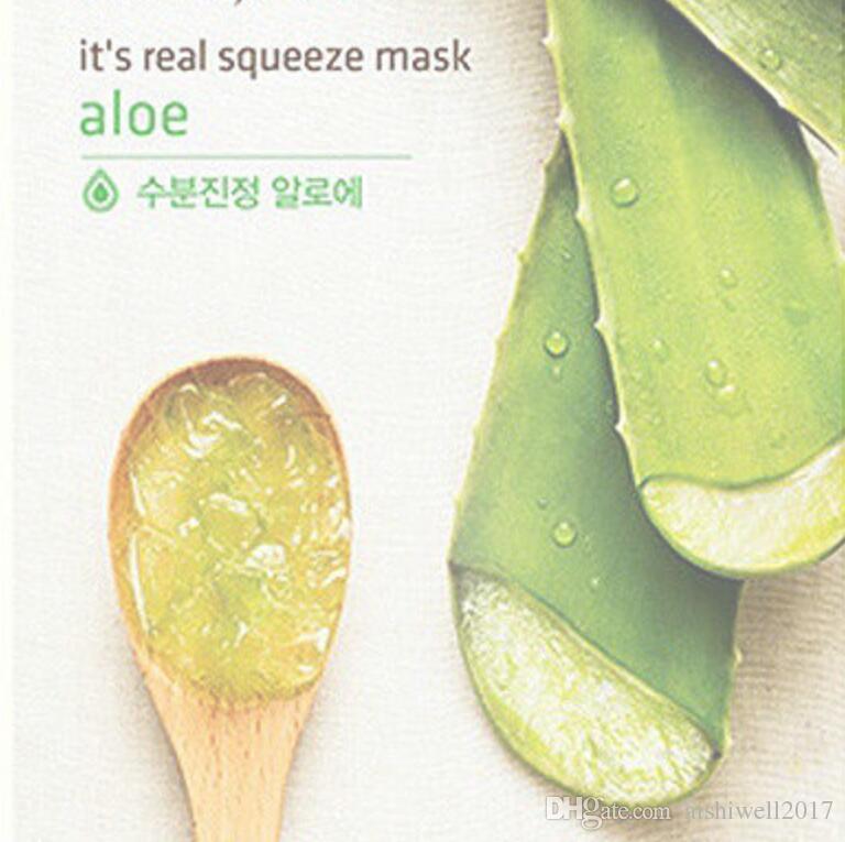 Original Korea It's Real INNISFREE Squeeze Mask Face Mask Whitening Moisturizing Anti Wrinkle Facial Mask 15 Styles Random