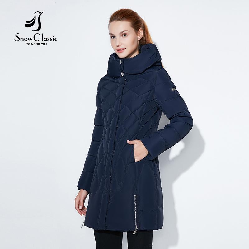 the latest 44449 e4085 SnowClassic 2017 giacca invernale da donna parka corto cappa Cappotti  cappotti di lusso tuta sportiva Argyle giacca solida femminile sopra  cappotti ...