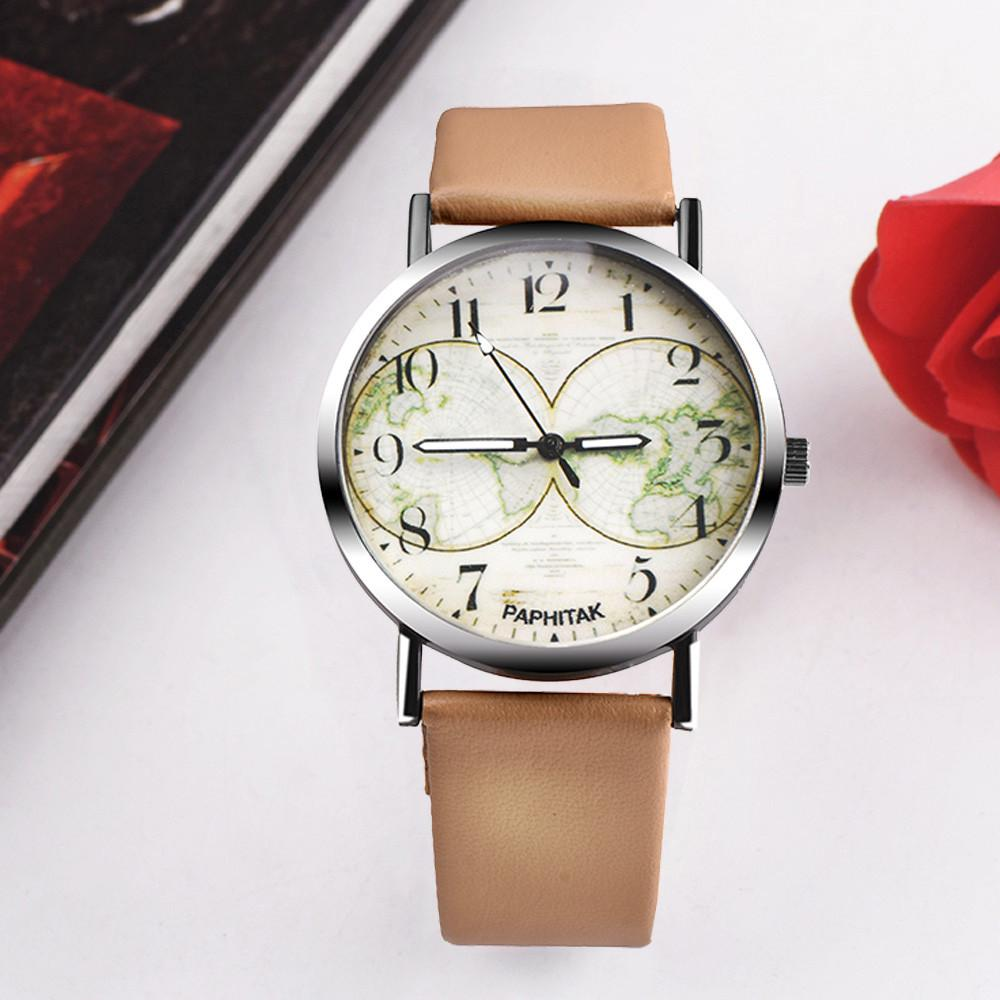 900b073ef70 Compre Fantasia Unisex Pulseira De Couro Inspirado Liga Analógica Das  Mulheres Dos Homens Relógio De Quartzo Marca De Luxo Pulseira De Relógio  Para As ...