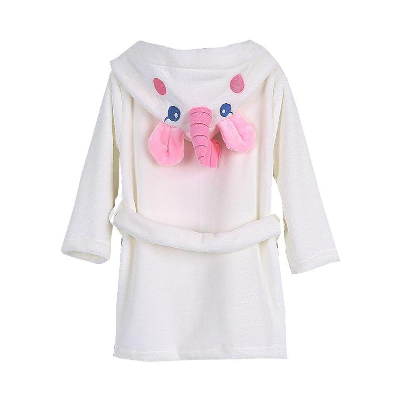 bf9bbcef532a Kids Pajamas Sleepwear Autumn Winter Children Clothing Bathrobe ...