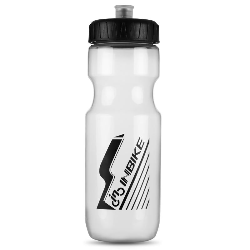 INBIKE 700ML Water Bottle for Bike Bicycle Sports Water Bottle Kettle Bite Valve Narrow Mouth BPA-Free Solid BE319