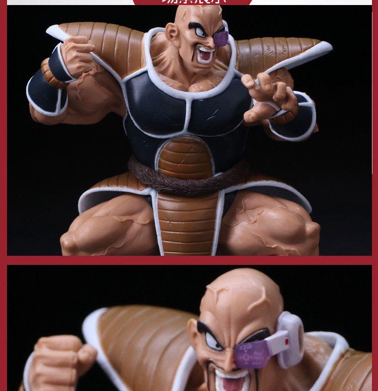 15cm Cartoon Dragon Ball Z Super Saiyan Raditz NO.21 nappa dragonball PVC Action Figures Model Toy Doll