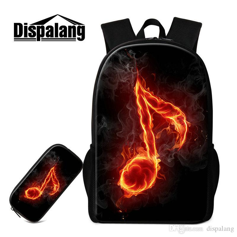 557ceb352b Musical Note New Printed Backpack For Middle School Student School Bags  Pencil Box Women Casual Traveling Bag Children Rugtas Pack Backpacks For  Kids ...