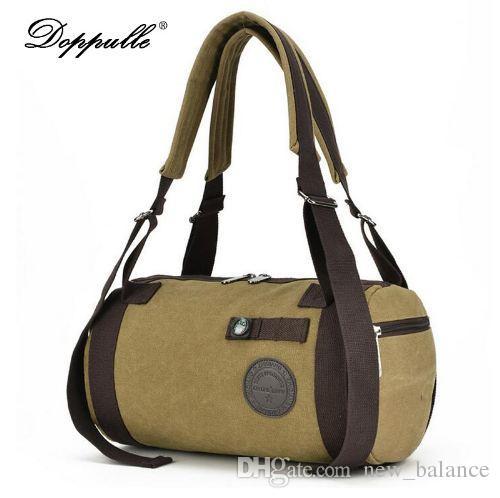ea520994b5e9 New Fashion Canvas Men S Travel Luggage Bag Travel Backpack Canvas Men S  Duffle Bag Overnight Weekend Bag Shoulder Tote Rucksack Backpack Boys  Backpacks ...