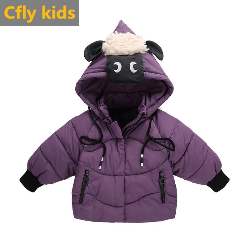 d149611b8081 Children Jackets Baby Boys Girls Thick Winter Coat Kids Warm ...