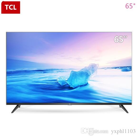 TCL 65-inch high quality 4K ultra clear HDR smart TV rich video education  resources (black) hot new products free shipping