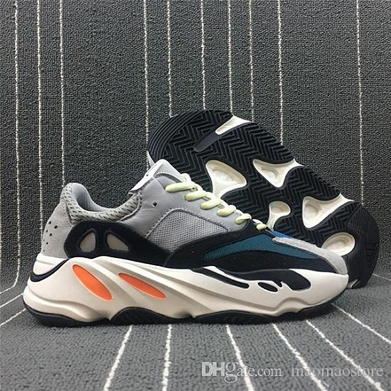 b63ca9a0b 2019 2018 Hot Sale 500 Blush Desert Rat Kanye West 700 Wave Runner 500  Sneakers Running Shoes Designer Shoes Athletic Sneaker Outdoor Boots From  Maomaostore ...