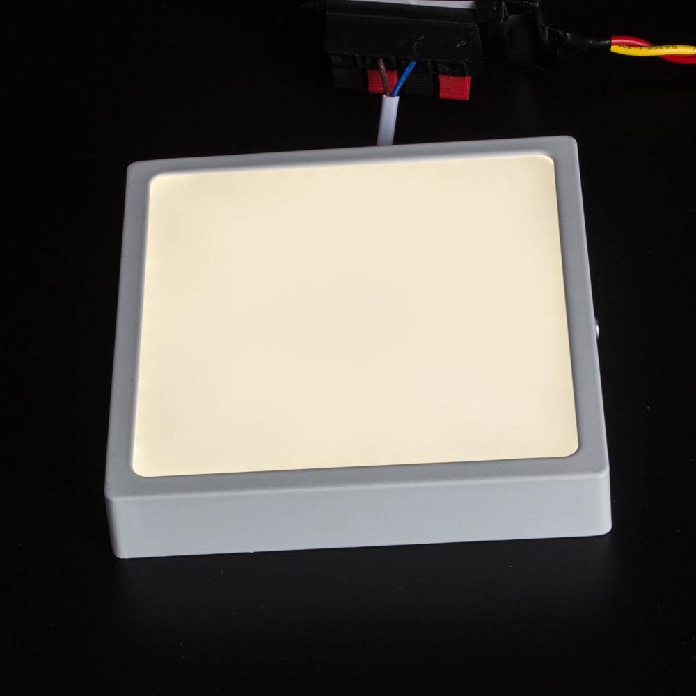 T-SUNRISE PACK Round / Square 8W 16W 24W 32W LED Downlight Panel Light Surface Mounted LED Camera da letto Apparecchi di illuminazione SMD4014