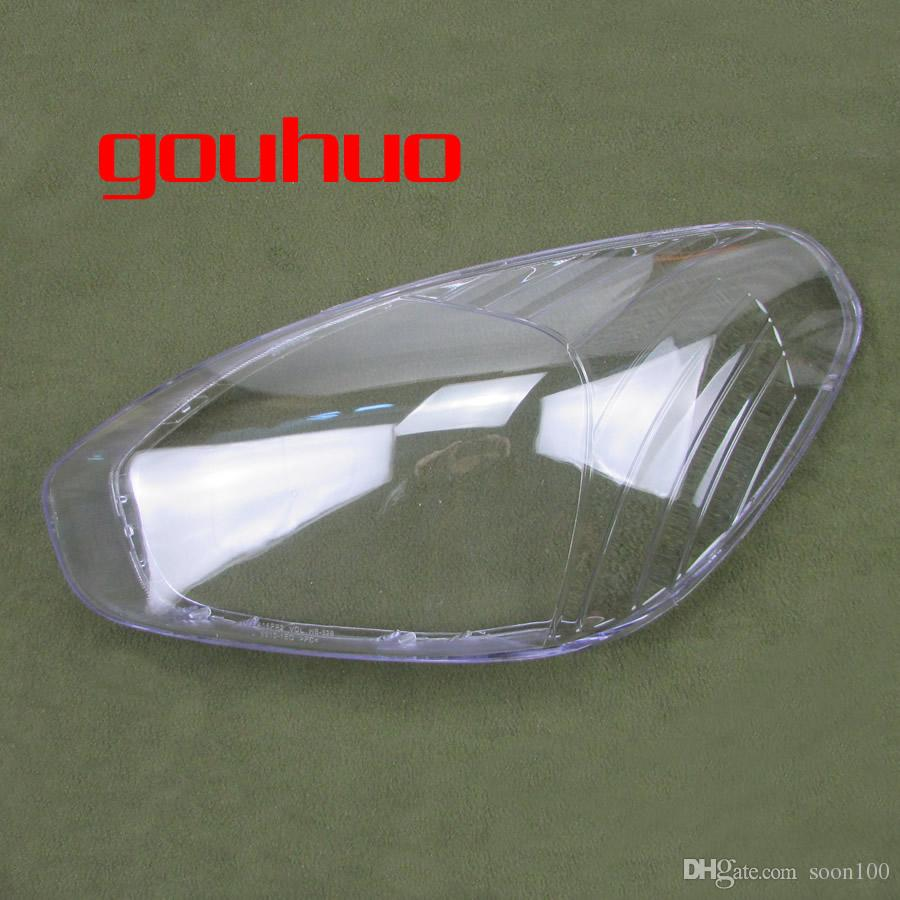 For Hyundai Accent 06-09 headlamp shell lampshade transparent lampshade  headlights cover lens lamp glass mask 2pcs
