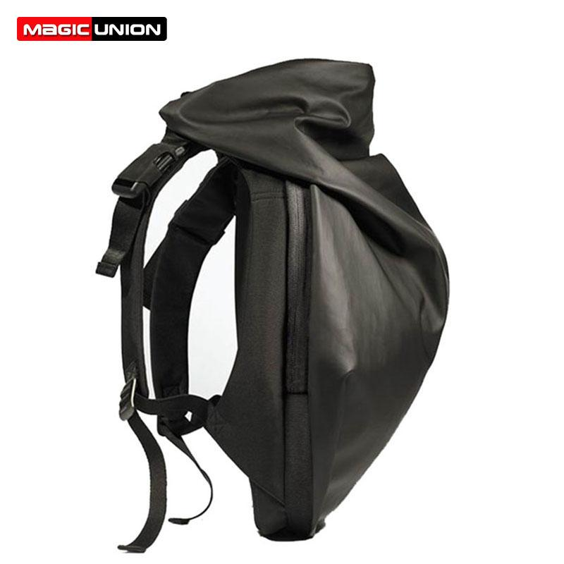 MAGIC UNION New Fashion Rain Hat Backpacks Men Multifunctional ... 701abc432cba5