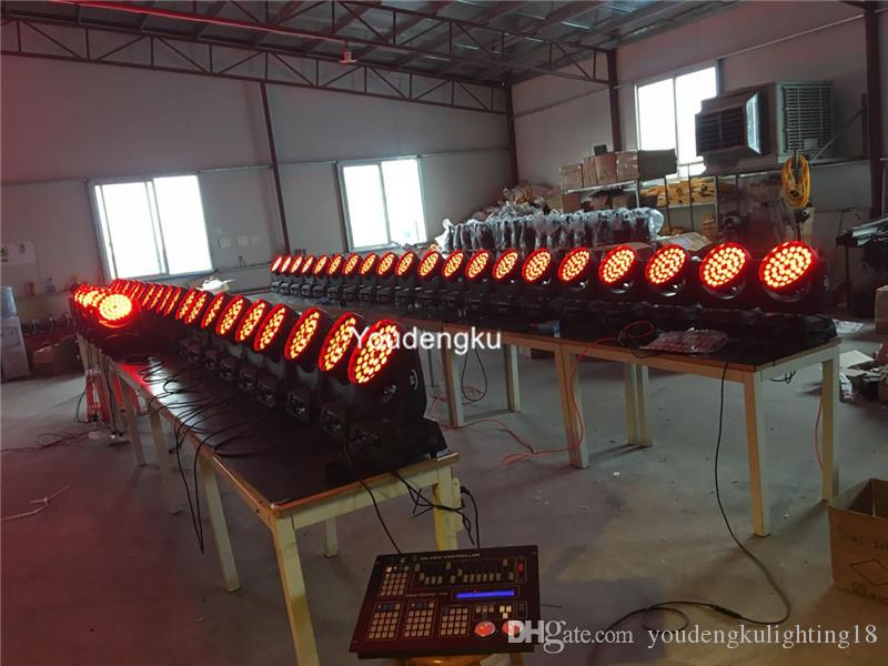 10 adet 4-in-1 kafa Zoom'un 36x10w Moving Head Ledler led RGBW yakınlaştırma yıkama dj ışıkları hareketli led