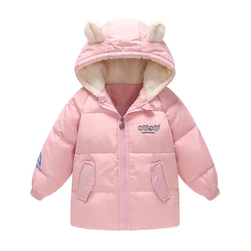 62118e7496 Piumino d'oca 90% Leggero per bambina Ragazzi Abbigliamento invernale  Giacche invernali Piumini per bambini Capispalla per bambini