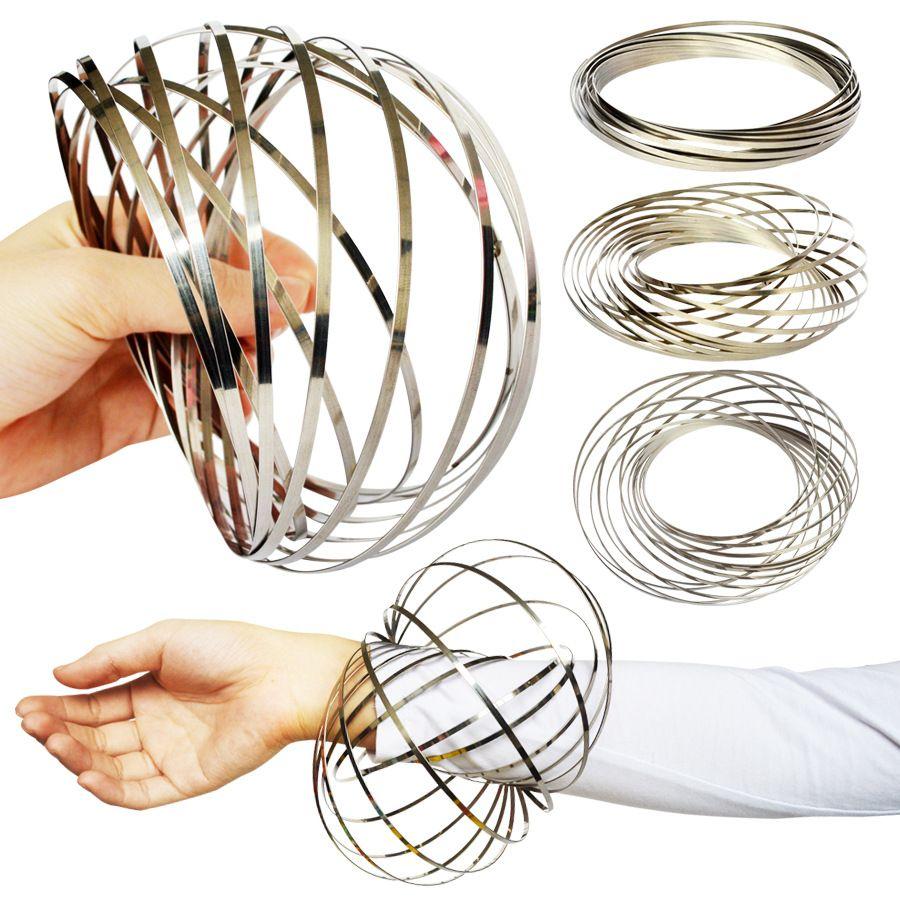 Compre Toroflux Flow Ring Toys 5 Inch Acero Inoxidable Kinetic Spring Metal  Sus 304 Toroflux Anillo De Flujo Mágico Kids 3d Anillo Escultura Juguetes  ... 788f7a0615d