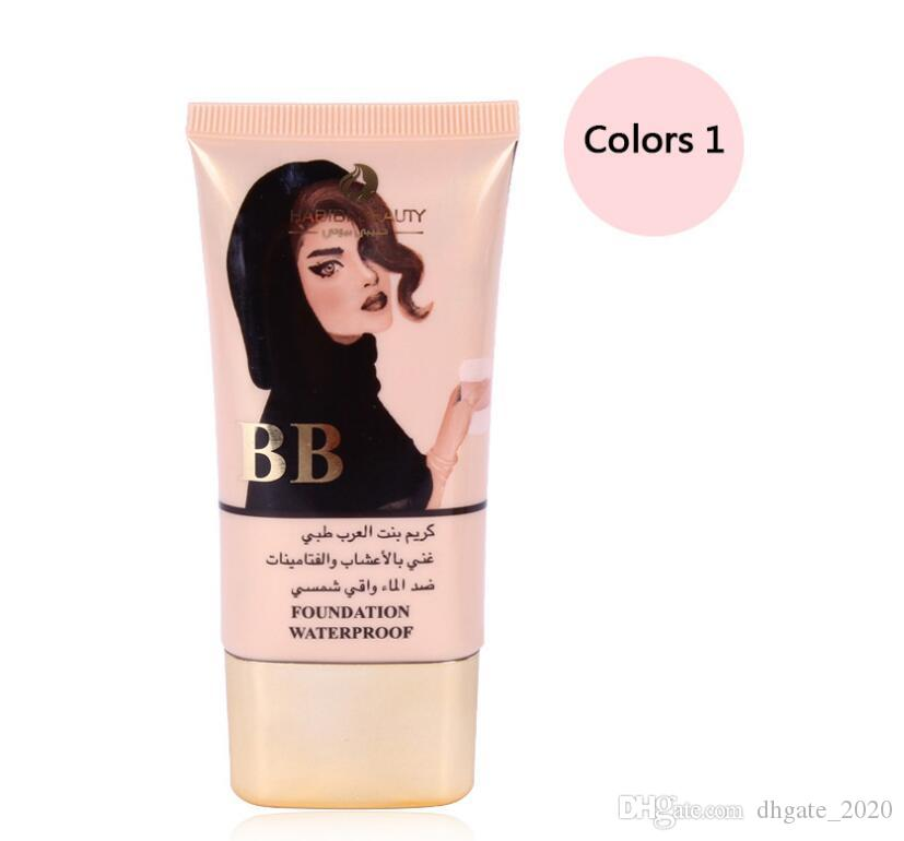 2018 HABIBI BEAUTY Explosion Moisturizing Concealer BB Cream Quality nude Makeup Liquid Foundation Cosmetics Support DHL freeshippping
