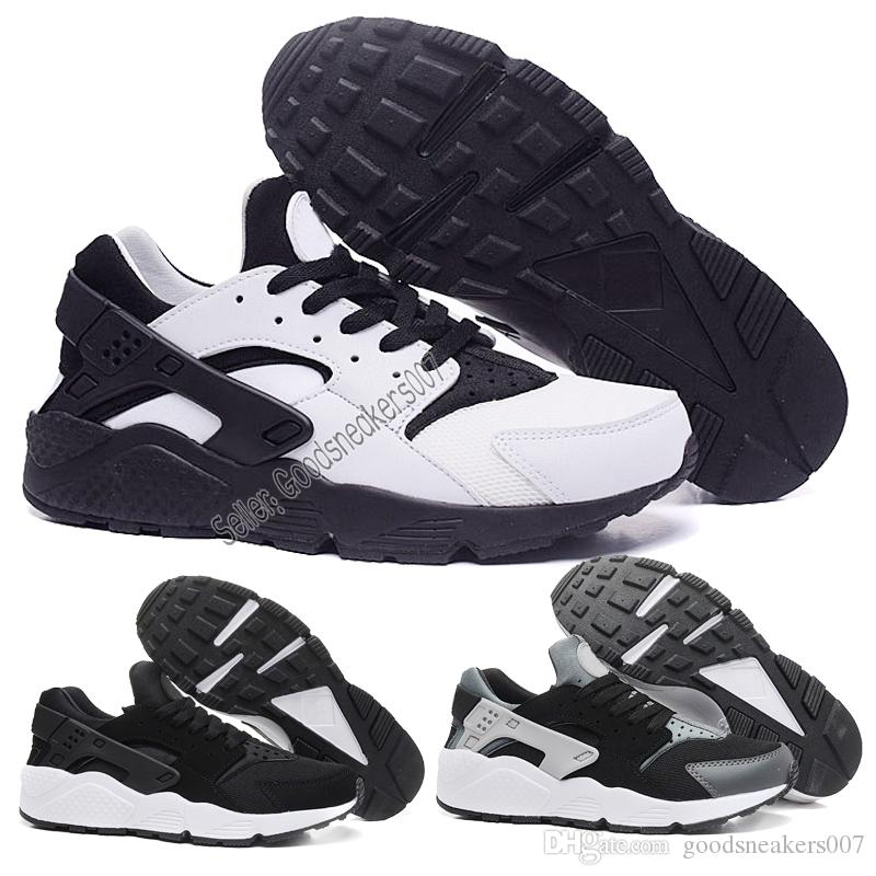 88fa5a605fa50 Mens Womens Huarache 1s I Running Shoes Green White Black Rose Gold ...