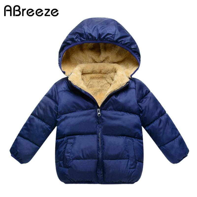 2d9dbee8e 2017 New Winter Children Down   Parkas Casual Blue Black And Red ...