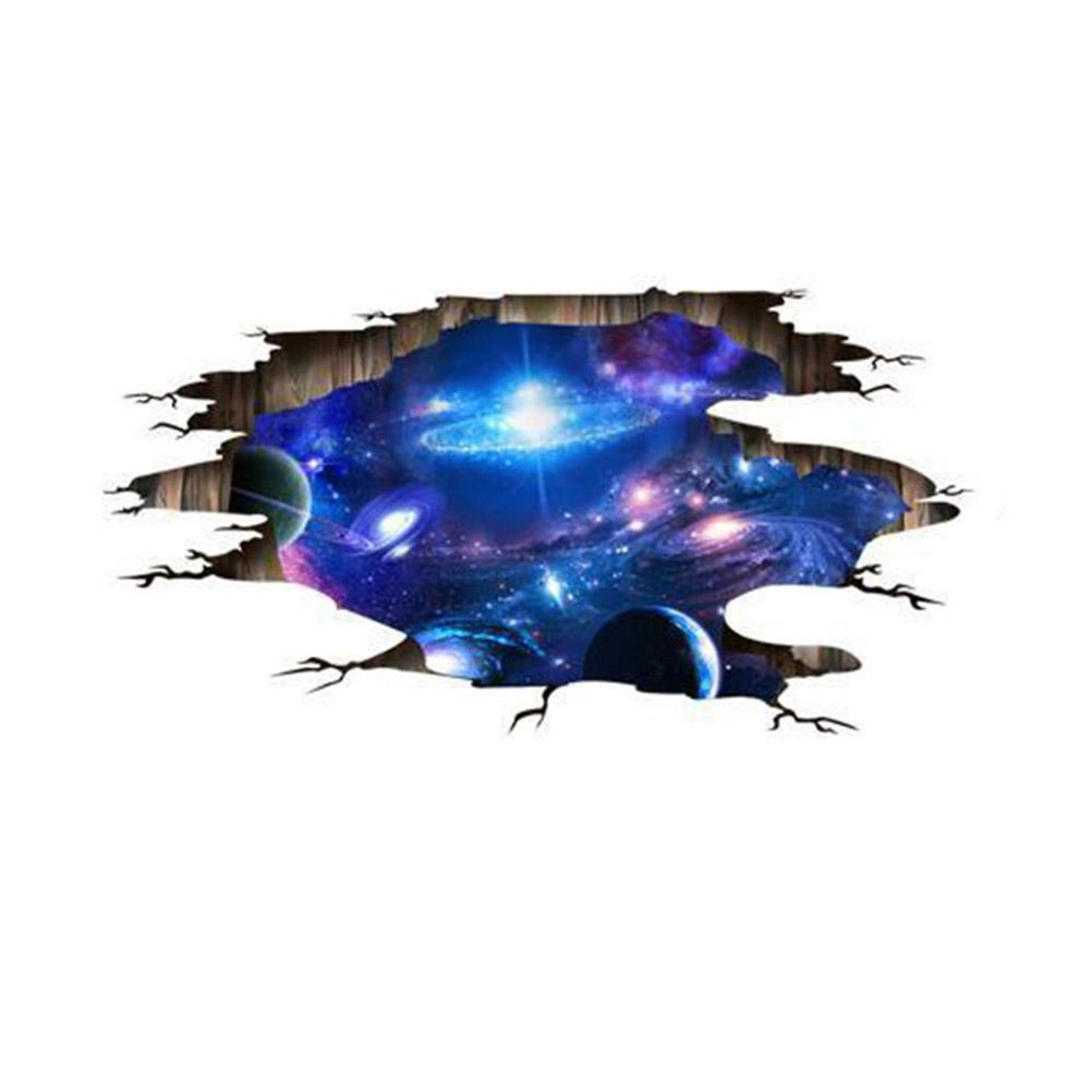 Grosshandel 3d Galaxy Wandaufkleber Sternenhimmel Universum