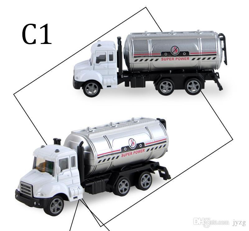 Pull Back car mini alloy construction vehicle Engineering Car Dump-car Dump Truck Model Classic Toy Mini gift