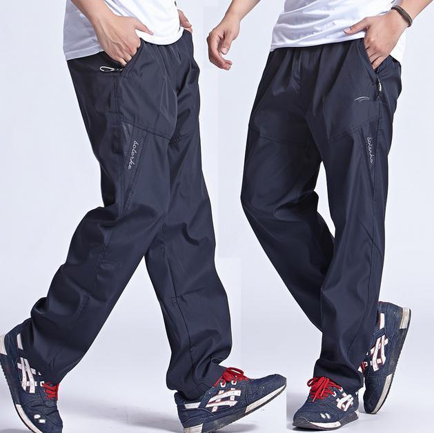8a56f761e6 Compre Pantalones Deportivos Nuevos Para Hombre Al Aire Libre Pantalones  Deportivos Para Correr Con Secado Rápido Pantalones Deportivos Para Hombre  Con ...