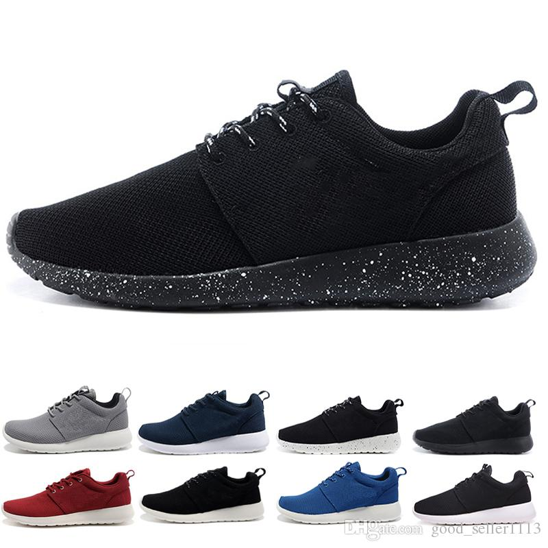 8f6861b72 New London 1.0 Olympic Running Shoes For Men Women Black White Blue ...