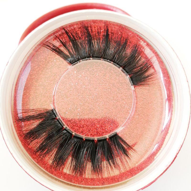 Y-27 custom label 3D faux mink eyeLashes false Eyelashes 3D Soft Silk Long Lash False winged eyeLashes Handmade Eyelash custom package