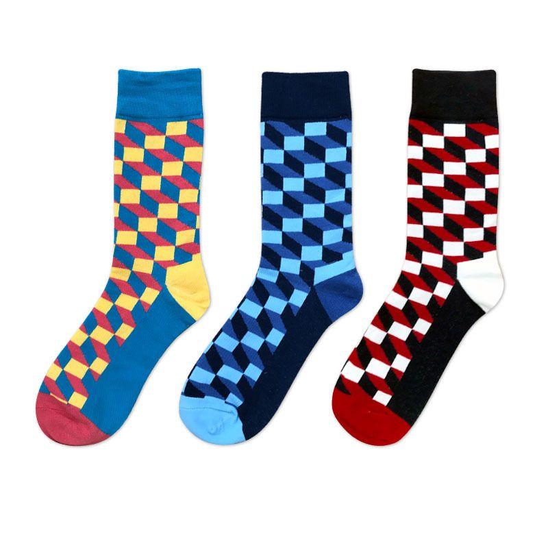 17f41e800 2019 Christmas Colorful Cotton Happy Socks Men Women Casual Harajuku  Designer Socks Brand Fashion Novelty Funny Sock For Couple From  Ferdinand07