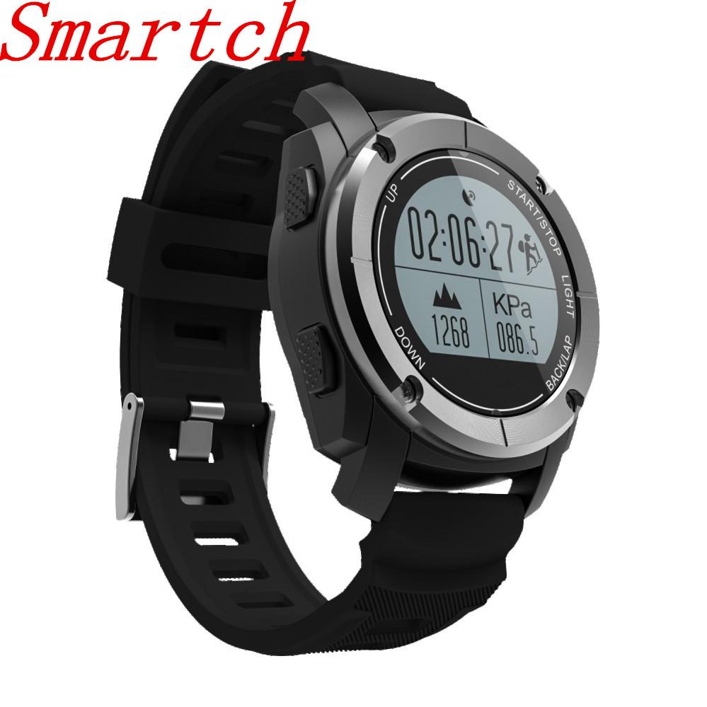 Smartch S928 Real-time Heart Rate Track Smart Watch 4.0 GPS Sport Smartwatch Pedometer Sedentary Remind Sleep Monitor