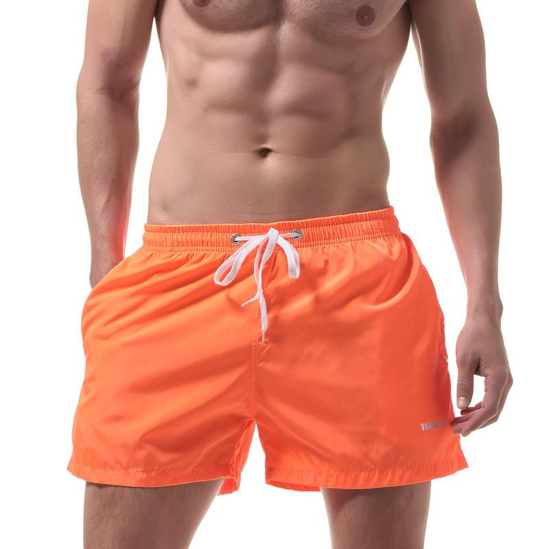 6f469a5018 2019 Men Sports Short Summer Beach Shorts Quick Dry Swimwear Men Board  Shorts Man Boxers Bermuda Swimsuit Men Shorts Size Xxl From Clothingdh, ...
