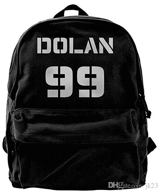 Dolan Twins Canvas Shoulder Backpack New Style Rowing Backpack For Men    Women Teens College Travel Daypack Black Swissgear Backpack Swiss Backpack  From ... 5f6f0ad54d32b