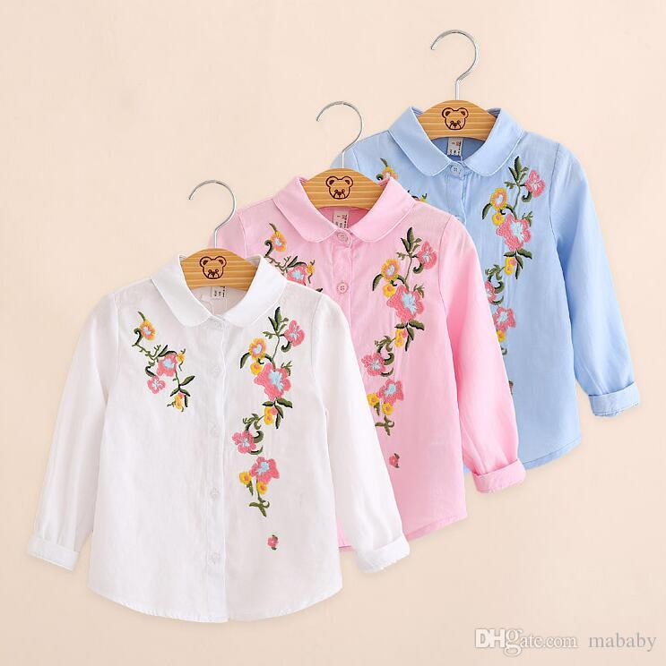 fe642fa73 2018 Autumn New Korean Children s Wear Long Sleeved Shirt Big ...