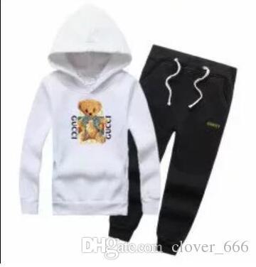 Acheter En Gros Bébé Et Filles Costume Marque GUCCI Survêtements 2  Vêtements Pour Enfants Mis Vente Chaude Mode Printemps Automne Robes  Enfants   De  179.4 ... b07cbed0d15