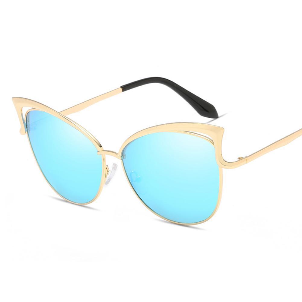 fcae4338508 MISSKY Women Fashion Cat Eye Sunglasses UV Proof PC Lens Sun Glass ...